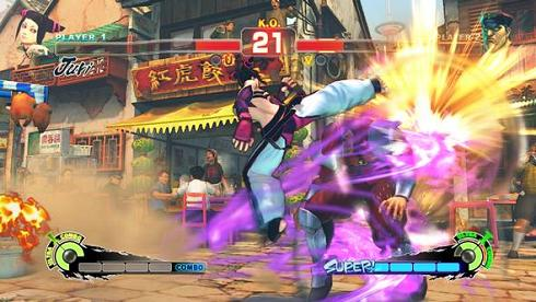 Street Fighter Leveling Down